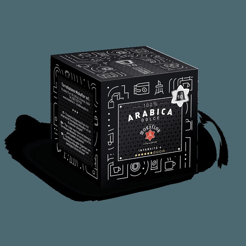 cialde-compatibili-nespresso-mokaflor-arabica