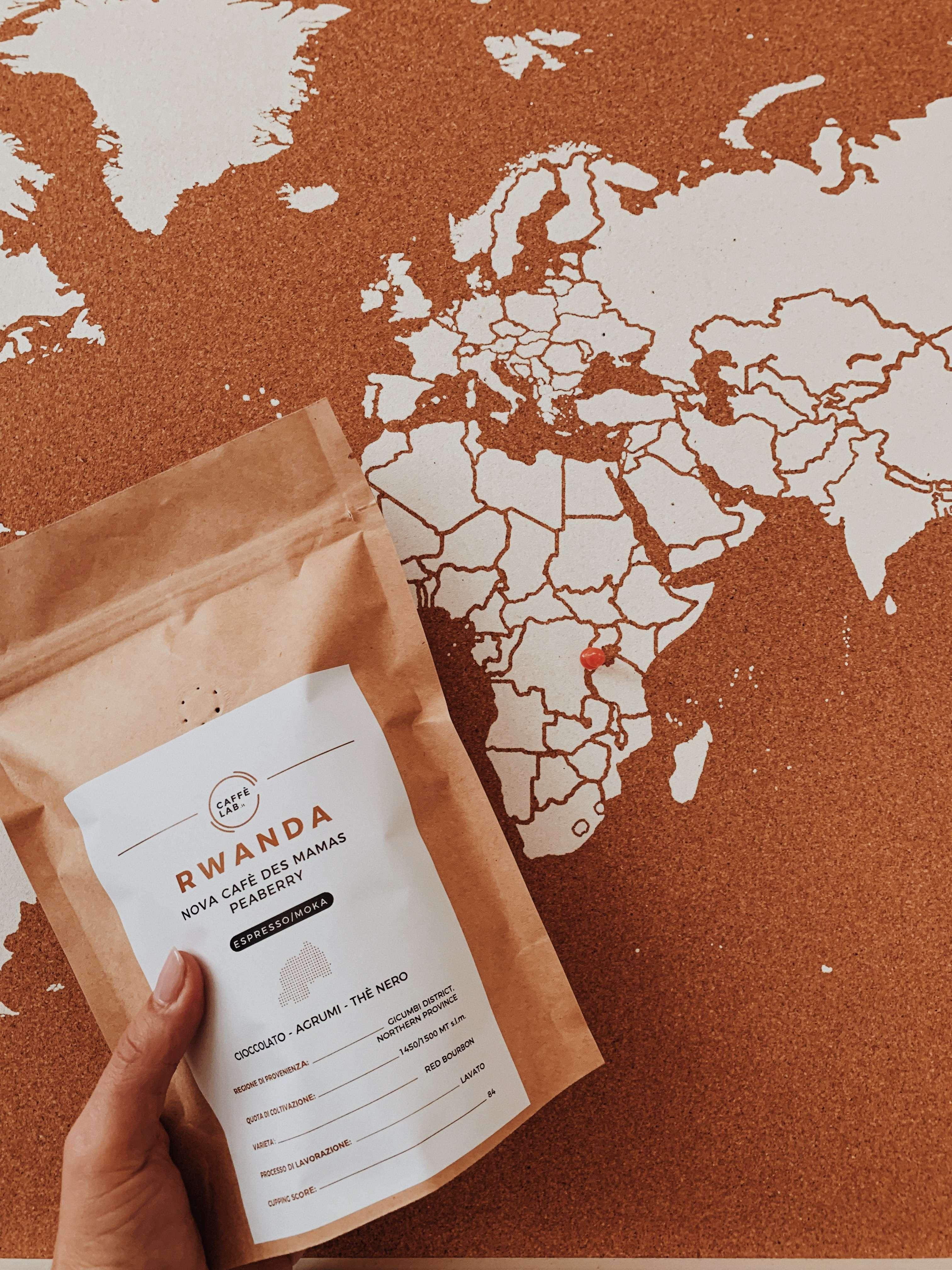 La perla del Rwanda coltivata dalle donne: Nova Cafè Des Mamas