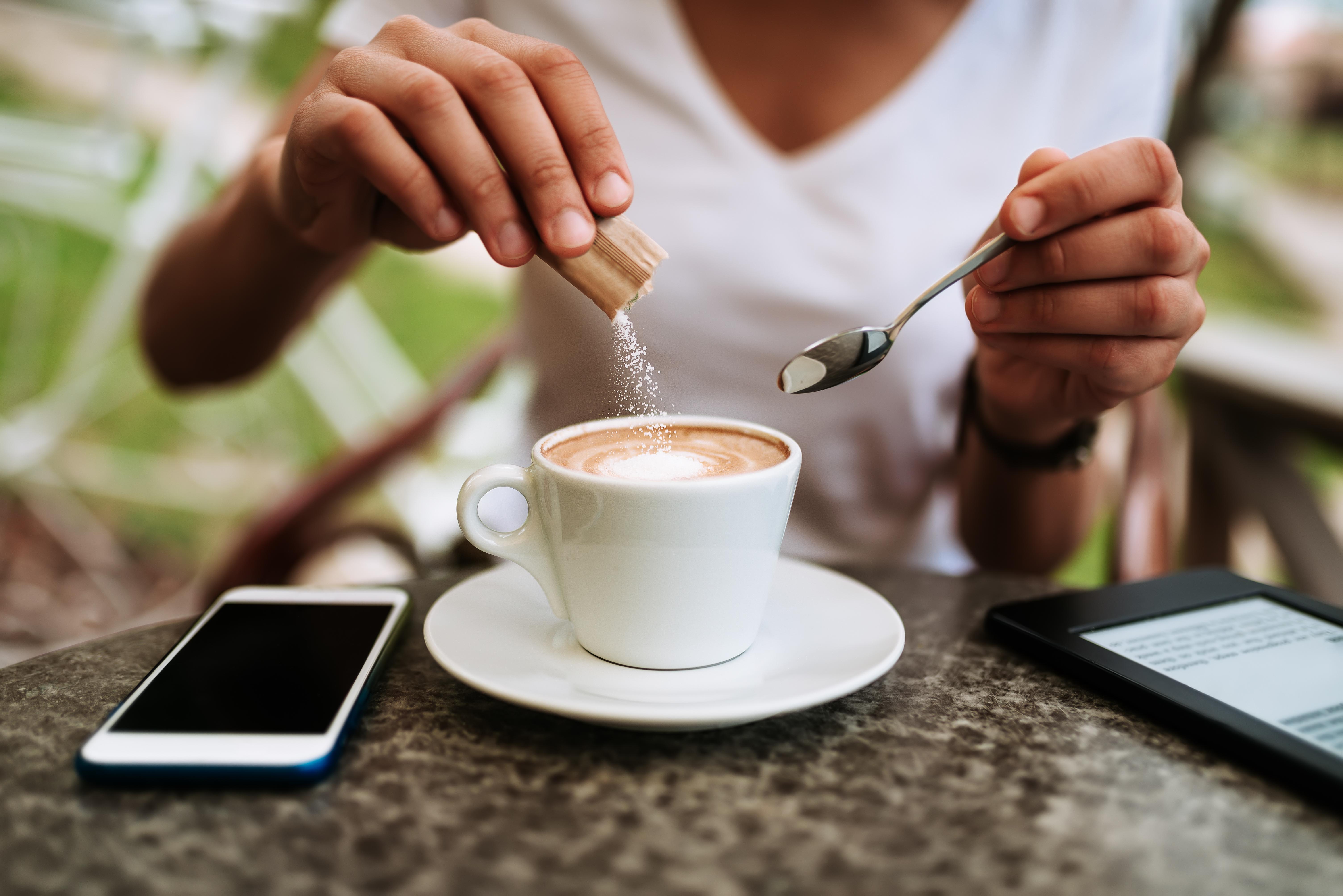 Il caffè con o senza zucchero?
