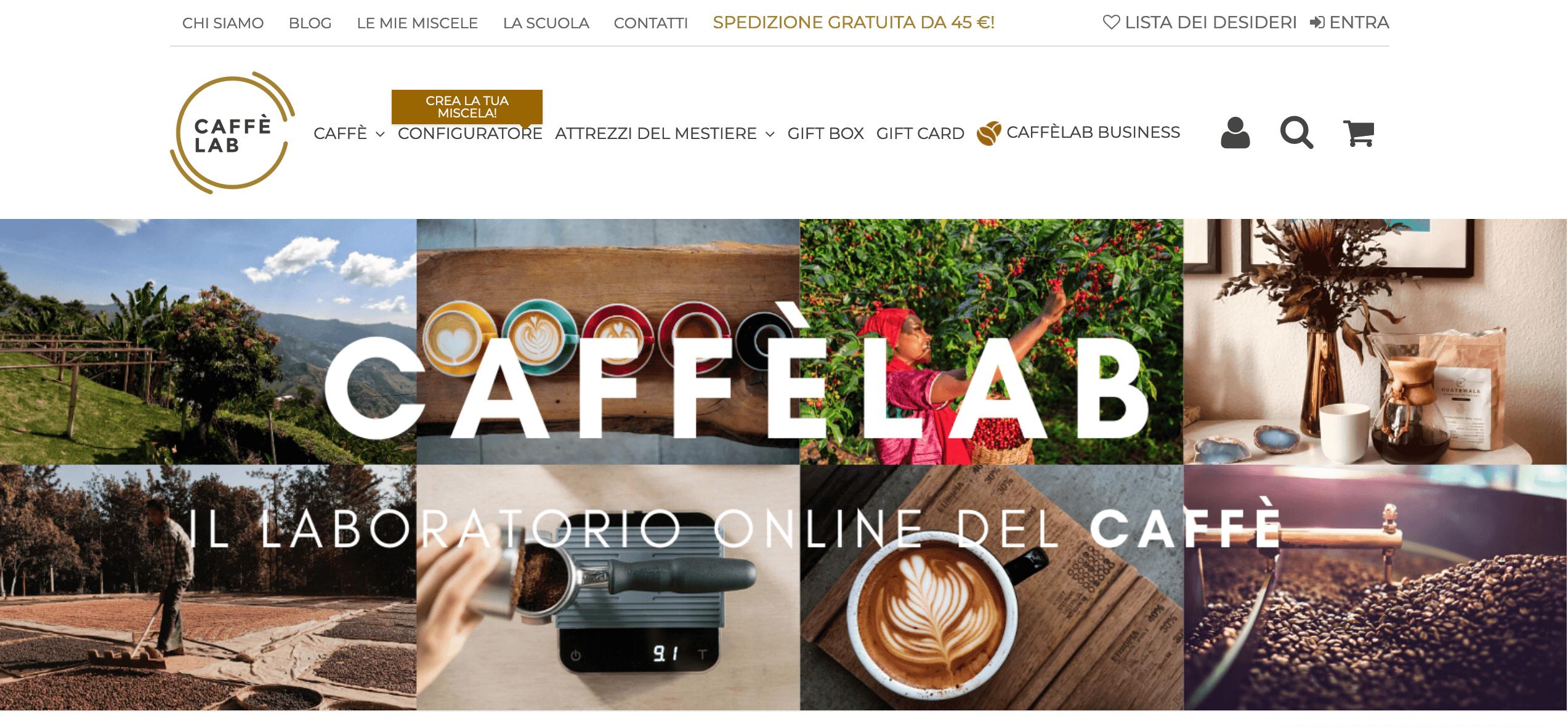 Ordina il tuo caffè preferito, comodamente da casa!