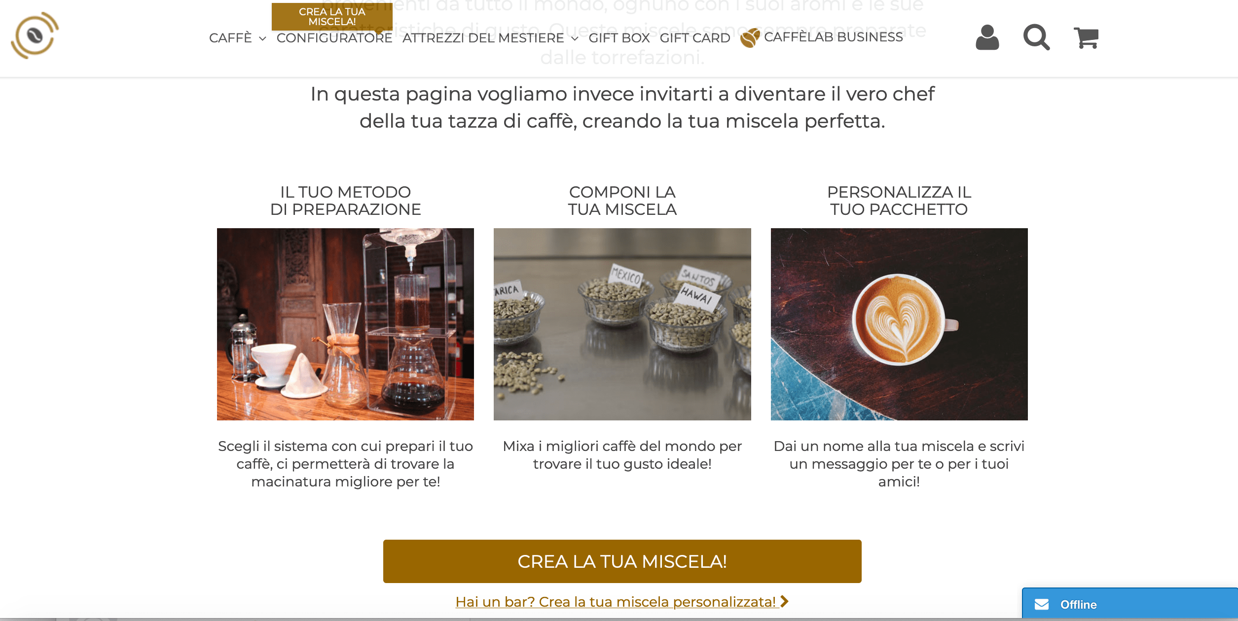 Order your favourite coffee in the convenience of your home!