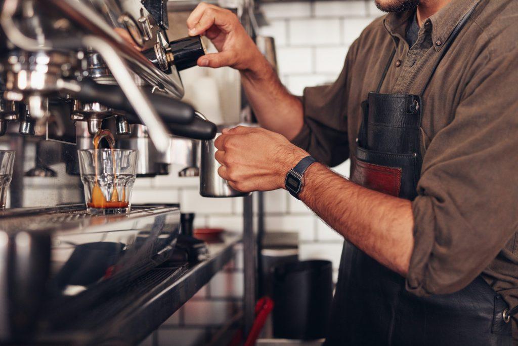 Der perfekte Mahlgrad für einen Espresso